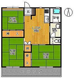 新栄ビル[305号室]の間取り