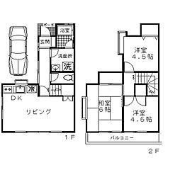 [タウンハウス] 神奈川県座間市入谷5丁目 の賃貸【神奈川県 / 座間市】の間取り