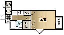 MCハイツ[1階]の間取り