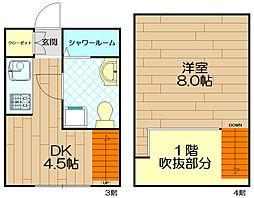 ブラボー東川崎737[3階]の間取り