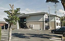 滋賀県蒲生郡日野町大字上野田の賃貸アパートの外観