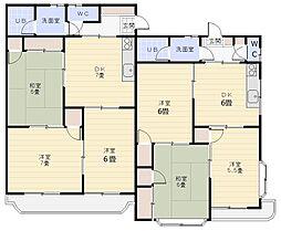 シャルマン北本B棟[2階]の間取り