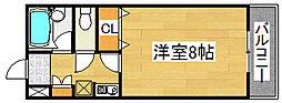 ネスト百舌鳥八幡[2階]の間取り