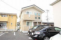 栃木県鹿沼市睦町の賃貸アパートの外観