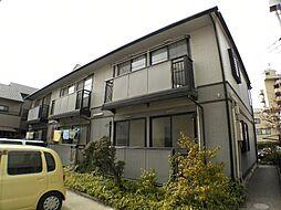 兵庫県芦屋市春日町の賃貸アパートの外観