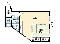 TOMI守恒ビル[2階]の間取り