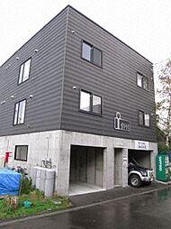 北海道札幌市白石区北郷九条3の賃貸アパートの外観