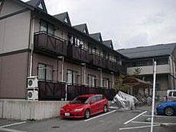 山形県山形市東青田2丁目の賃貸アパートの外観