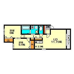 厚別駅 5.7万円