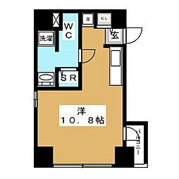 D terrace Tokyo 7階ワンルームの間取り