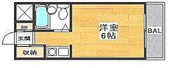 マヨ姫路[3階]の間取り