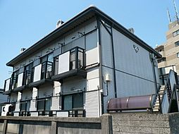 東京都国分寺市東戸倉の賃貸アパートの外観