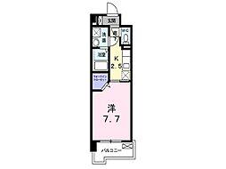 福岡県福岡市博多区上牟田3丁目の賃貸マンションの間取り