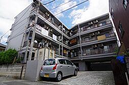 埼玉県越谷市越ヶ谷5の賃貸マンションの外観
