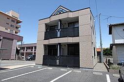 群馬県伊勢崎市東本町の賃貸アパートの外観