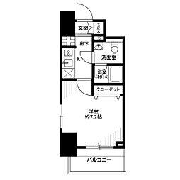 プレール・ドゥーク西横浜[9階]の間取り