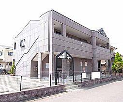 京都府木津川市山城町平尾不知田の賃貸アパートの外観