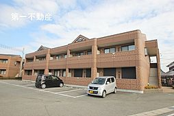 兵庫県加東市梶原の賃貸アパートの外観