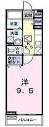 マンション フェリーチェ[2階]の間取り