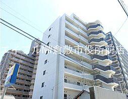岡山県倉敷市川西町の賃貸マンションの外観