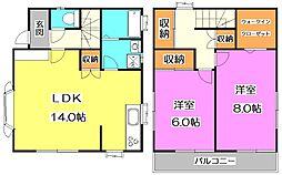 [一戸建] 東京都練馬区大泉学園町4丁目 の賃貸【/】の間取り