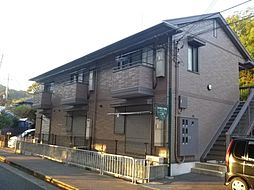 兵庫県姫路市苫編の賃貸アパートの外観