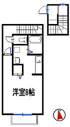 カルム・モリ[2階]の間取り