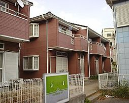 千葉県松戸市六高台の賃貸アパートの外観
