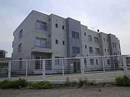 新潟県新発田市本町2丁目の賃貸マンションの外観