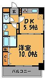 GH舞鶴[9階]の間取り