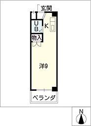 ダイコウビル[4階]の間取り