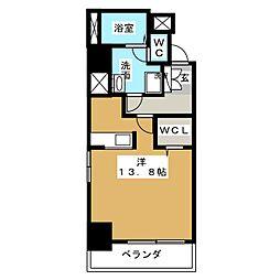 ラ・ルーシュ泉[8階]の間取り