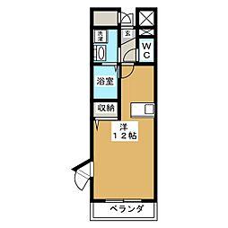 Marvelous TOMIZAWA[2階]の間取り