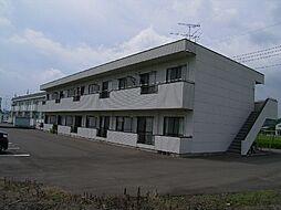 茨城県つくば市北条の賃貸アパートの外観