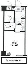 KS−DIO(リノベーション)[708号室号室]の間取り