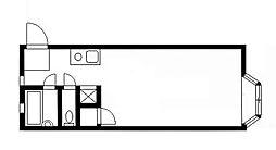コーポ翔[2階]の間取り