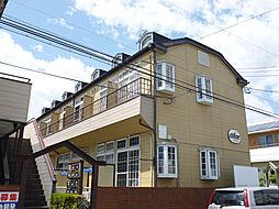 埼玉県深谷市桜ケ丘の賃貸アパートの外観