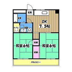 高倉ビル[3階]の間取り