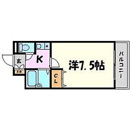 旭館[2階]の間取り