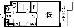 アルペジオ生田[519号室]の間取り