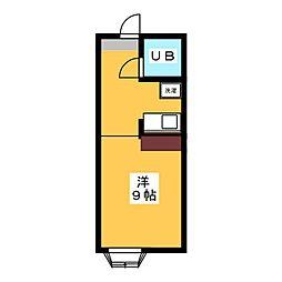 ラミエールYUTAKA[1階]の間取り
