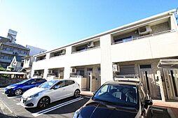岡山県岡山市北区奉還町3丁目の賃貸アパートの外観