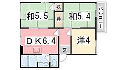 カーサK II[202号室]の間取り