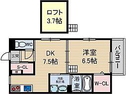 ヴィオレッタコート[2階]の間取り