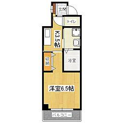 ドムスタレイア[5階]の間取り