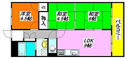 シティコーポ・長田 702号室[7階]の間取り