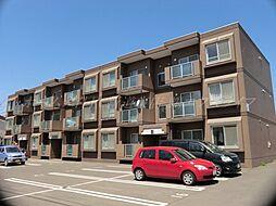 北海道札幌市北区あいの里二条1丁目の賃貸マンションの外観