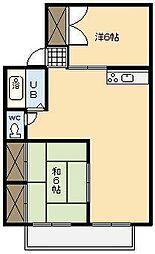 宮崎県宮崎市清武町正手1丁目の賃貸アパートの間取り