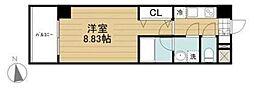 東京都武蔵野市中町2丁目の賃貸マンションの間取り