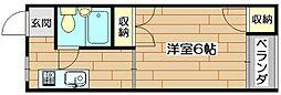柳原第二パールマンション[2階]の間取り